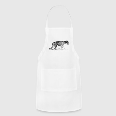 Tiger Drawing - Adjustable Apron