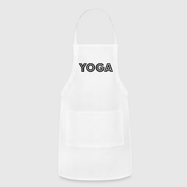 yoga wording - Adjustable Apron