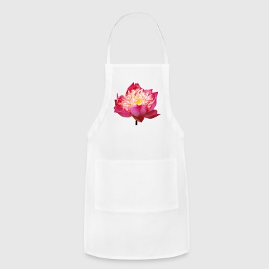lotus flowers blume garten garden - Adjustable Apron