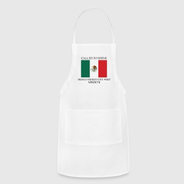 Mexico Mexico City West LDS Mission Called to - Adjustable Apron