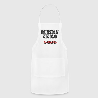 RUSSIAN Gigolo Party Shirt - Adjustable Apron