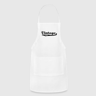 Vintage 1956 - Adjustable Apron