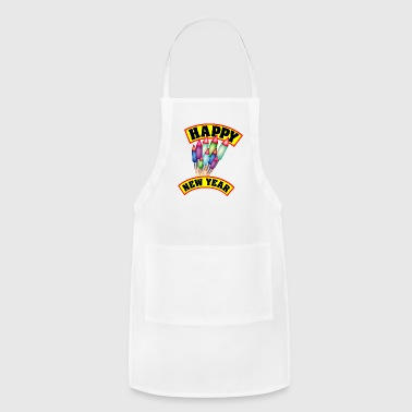 Happy New Year Happy New Year / Rockets - Adjustable Apron