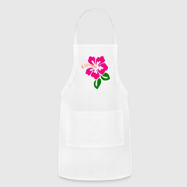 Hawaiian Hawaiian Flower - Adjustable Apron