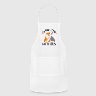 10th Anniversary Gift 10 Year Quote - Adjustable Apron