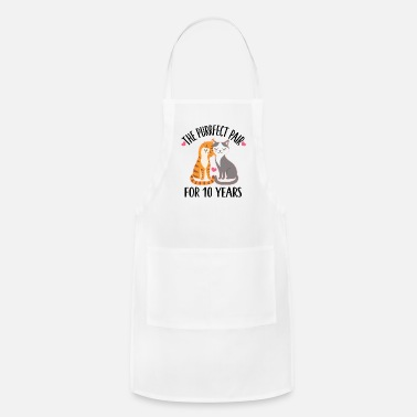 Husband 10th Anniversary Gift 10 Year Quote - Adjustable Apron