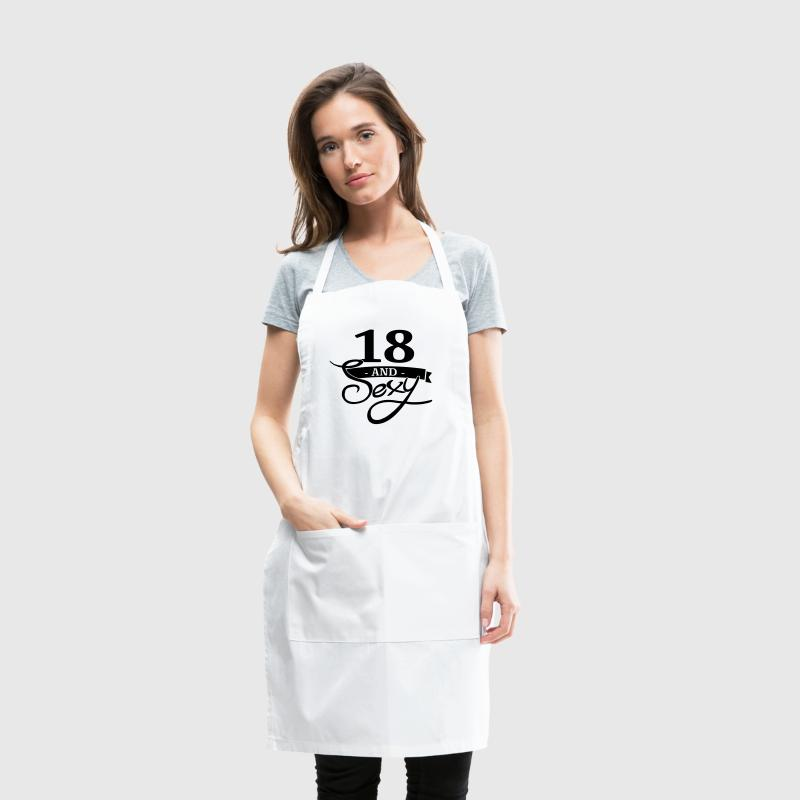 18 and sexy - Adjustable Apron
