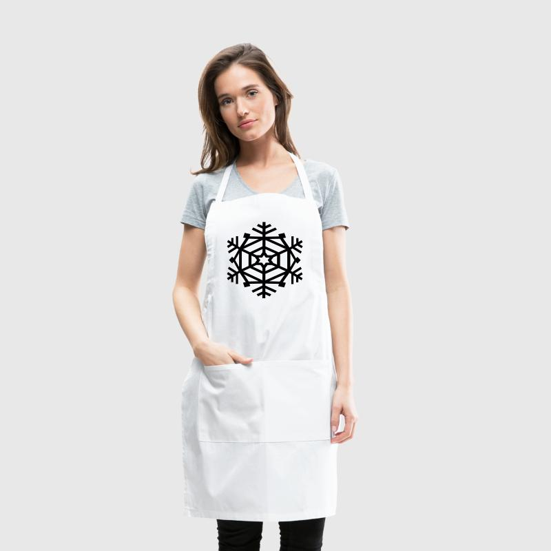 AD Geometric Snowflake - Adjustable Apron