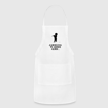 Jamming to some Jams - Adjustable Apron