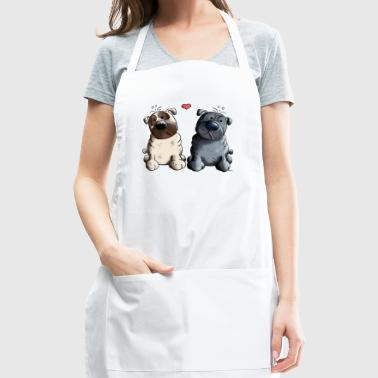 Pugs in Love - Adjustable Apron