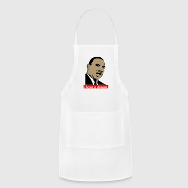 martin luther king - Adjustable Apron
