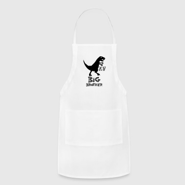 Big Sister big brother dinasour - Adjustable Apron