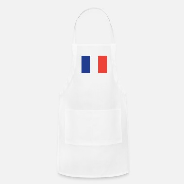 French Flag Flag of France Cool French Flag - Adjustable Apron