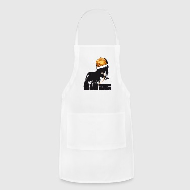 swag Glamour hiphop Street Gang Style swagg cool - Adjustable Apron
