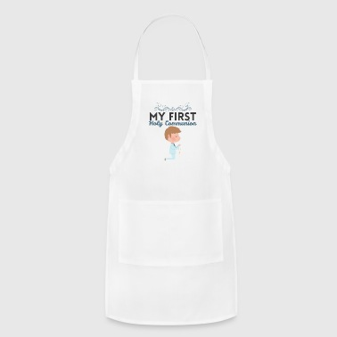 Holy Communion Boys First Holy Communion Church Catholic Tee - Adjustable Apron