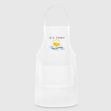 Holy Communion My First Holy Communion Catholic Son Daughter Gift - Adjustable Apron