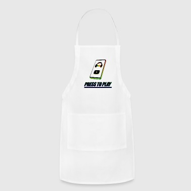 PRESS TO PLAY - Adjustable Apron