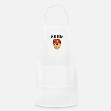 Pimples Nerdface with braces and pimples - Adjustable Apron