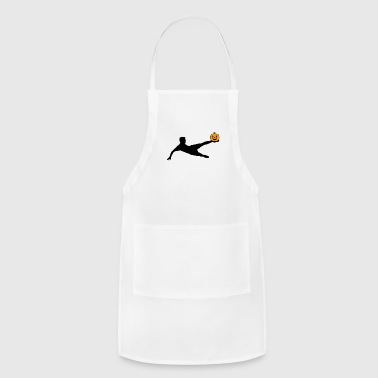 Halloween Soccer Player Volley - Adjustable Apron