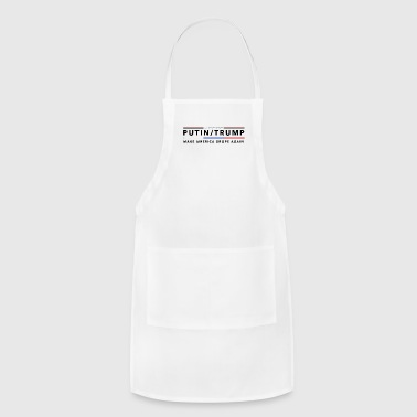 Anti Trump | Impeach the President | Vote For Dems Light - Adjustable Apron