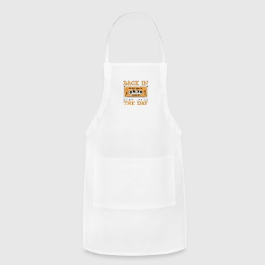Back in the Day 80s Cassette Funny Old Mix Tape Classic - Adjustable Apron