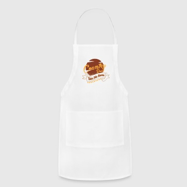 Country Music Country music country music country music gift - Adjustable Apron