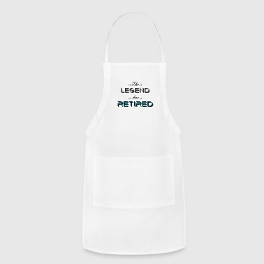 the legend has retired - Adjustable Apron