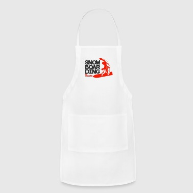 Snowboard, Snowboarder - SnowBoarding Is Calling - Adjustable Apron