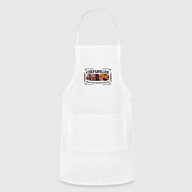 CHEFGRILLER schwarz - Adjustable Apron