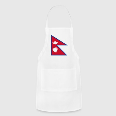 Nepal Flag - Adjustable Apron