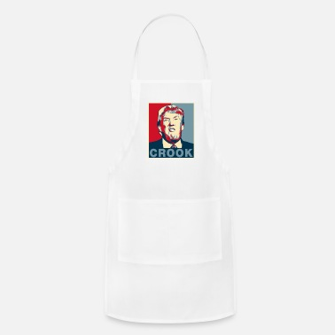Crook Trump Crook Poster Tee - Adjustable Apron