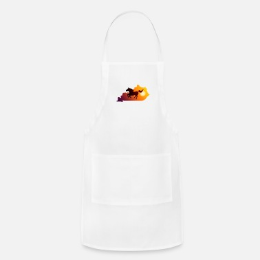 Gallop Horse Gallop in Sunset - Adjustable Apron