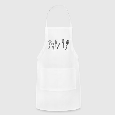 Kitchen utensils for cooking. - Adjustable Apron
