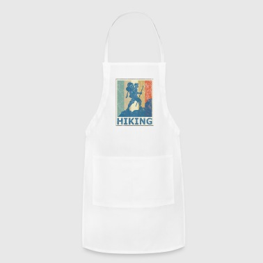 Retro Vintage Style Hiking Hike Wander Walk Tramp - Adjustable Apron