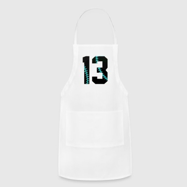 13th Birthday Gifts 2004 Baseball - Adjustable Apron