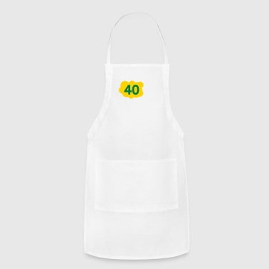 Old 40 Is Not Old. Depressing, But Not Old! - Adjustable Apron