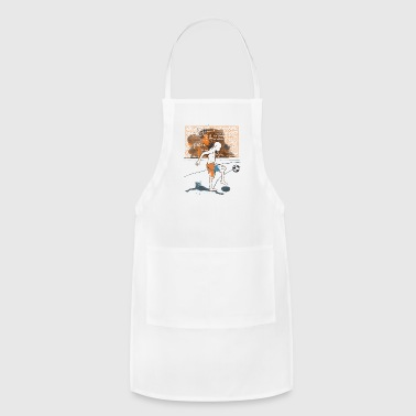 Serce I love Football - Adjustable Apron