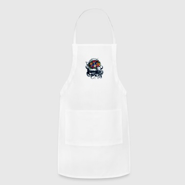 Space Bloom, Space Flower Bloom - Adjustable Apron