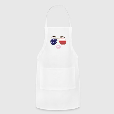 Obama Diva 4th of july - Adjustable Apron