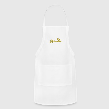 Glitter Adorable Glitter - Adjustable Apron