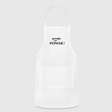 spirituality is - Adjustable Apron