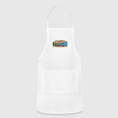 mobile phone evolution - Adjustable Apron