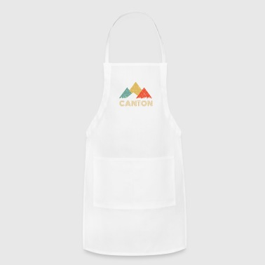 Canton Retro City of Canton Mountain Shirt - Adjustable Apron
