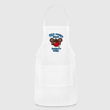 Red Nosed Bear - Adjustable Apron