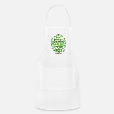 Dark Humor Humor Signature green dark - Adjustable Apron