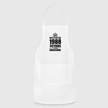 NOVEMBER 1988 30 YEARS - Adjustable Apron