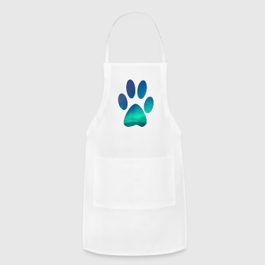 Dog Lover Dog Pawprint - Adjustable Apron