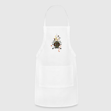 partner on trick - Adjustable Apron