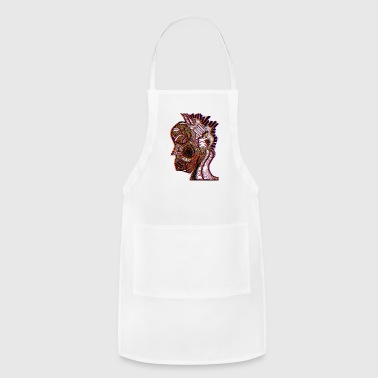 Heady Deep Red - Adjustable Apron