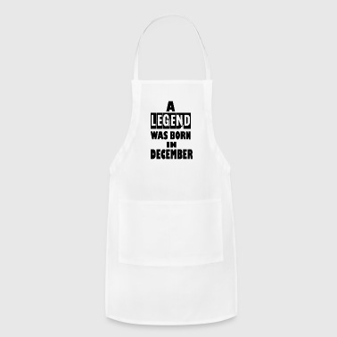 december - Adjustable Apron